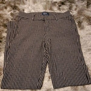 OLD NAVY Houndstooth Pixie pants
